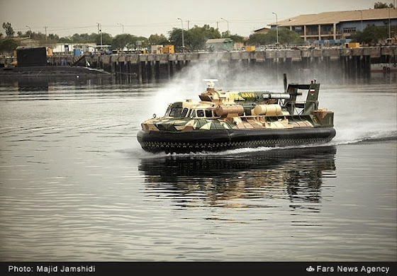Iranian indigenized hovercraft
