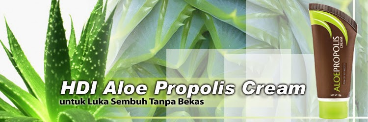 PRODUK MADU ASLI - HIGH DESERT: HDI ALOE PROPOLIS CREAM
