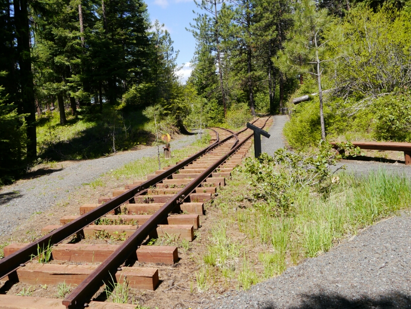 SVRR memorial track section