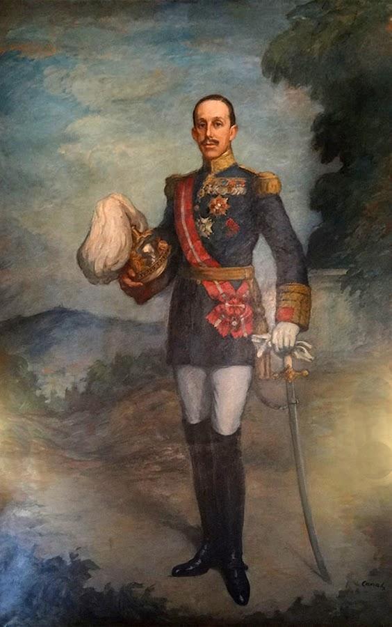 Retrato de Alfonso XIII por Ricard Canals i Llambí, Alfonso XIII,  Retratos de Ricard Canals i Llambí, Ricard Canals i Llambí, Pintor español, Retrato de Alfonso XIII