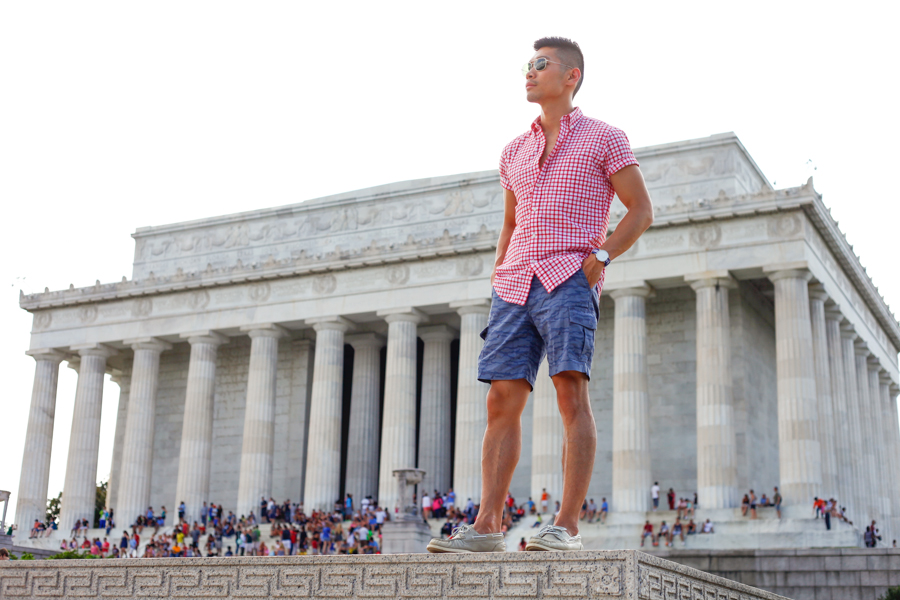 #WhereUNIQLO Levitate Style Washington DC | Summer Style Travel feat. Uniqlo, Lincoln Memorial, What to Wear