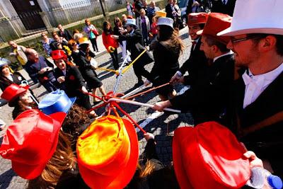 Fiesta de Queimas Das Fitas en Coimbra - Portugal