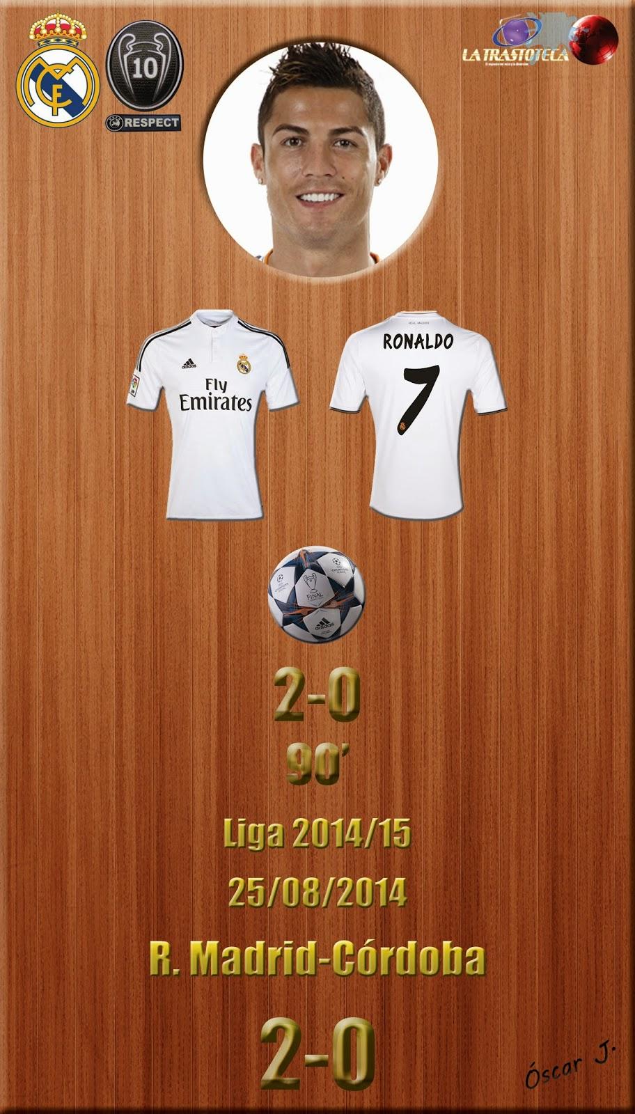 Cristiano Ronaldo (2-0) - Jornada 1 - 25/8/2014