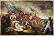 The Death of General Warren at the Battle of Bunker Hill, June 17, 1775.