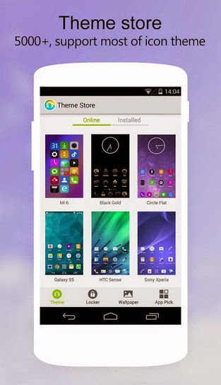 KK Launcher Prime 5.4 screenshot