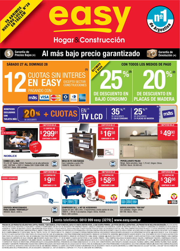 Noticias Cr Nica Tv Catalogo Easy Enero 2012