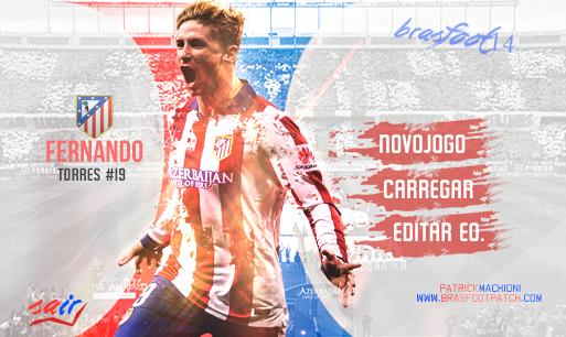 Skin Fernando Torres – Brasfoot 2014