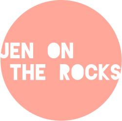 jen on the rocks