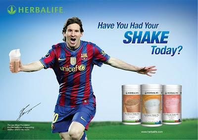 Messi Sữa giảm cân Herbalife