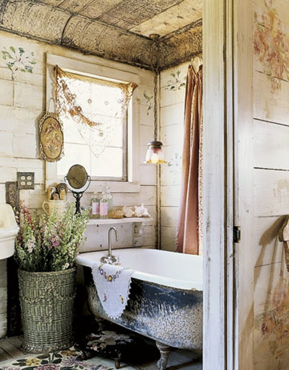 Farmhouse Style Bathroom Decor : Spontaneous niceties farmhouse bathroom inspiration