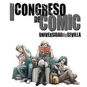 Cartel Congreso de Cómic Universidad de Sevilla by @nachotenorio