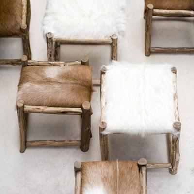 {Interior} Warm up with sheepskin