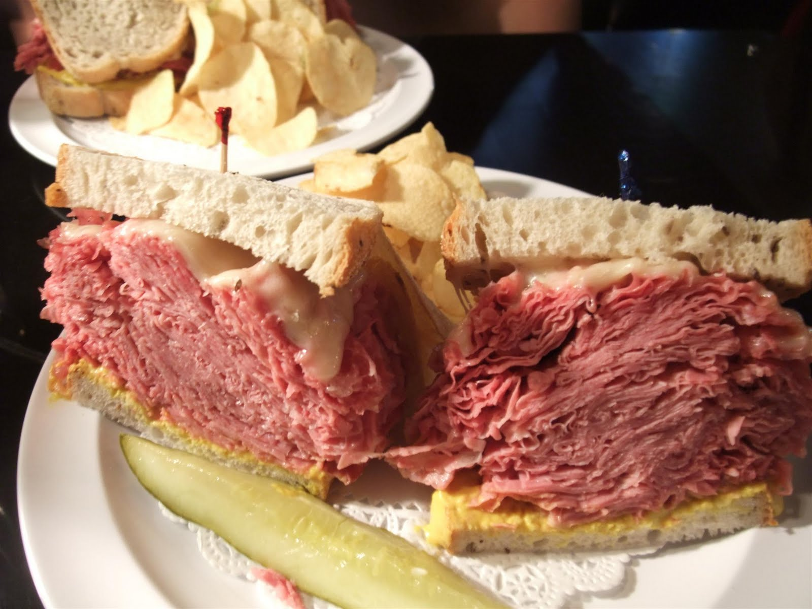 corned beef sandwich, best sandwich ever, recipe, cleveland