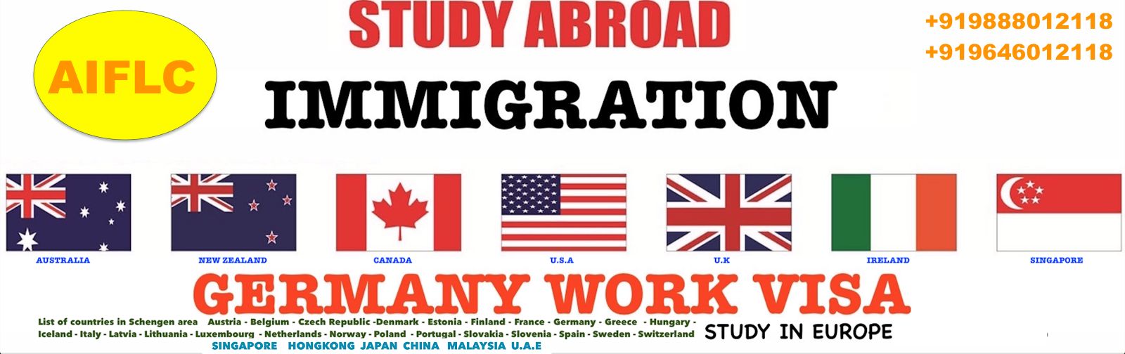 Study Visa,Immigration Services,Foreign Language Classes,Translation  in Chandigarh- Aiflc