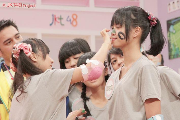 Achan dan diasta pada JKT48 school