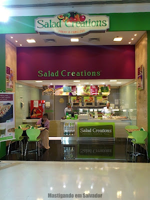 Salad Creations: Fachada da loja do Bela Vista Shopping