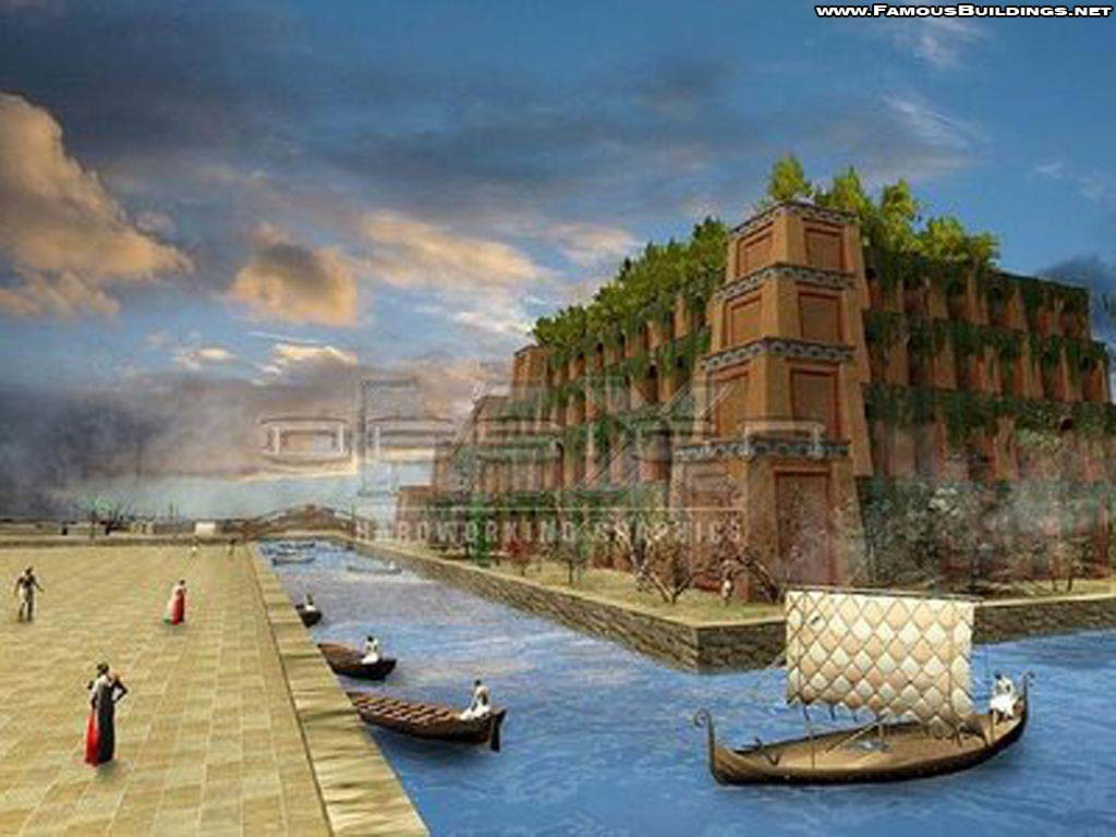 Seven Wonders Of The Ancient World The Hanging Gardens Of Babylon