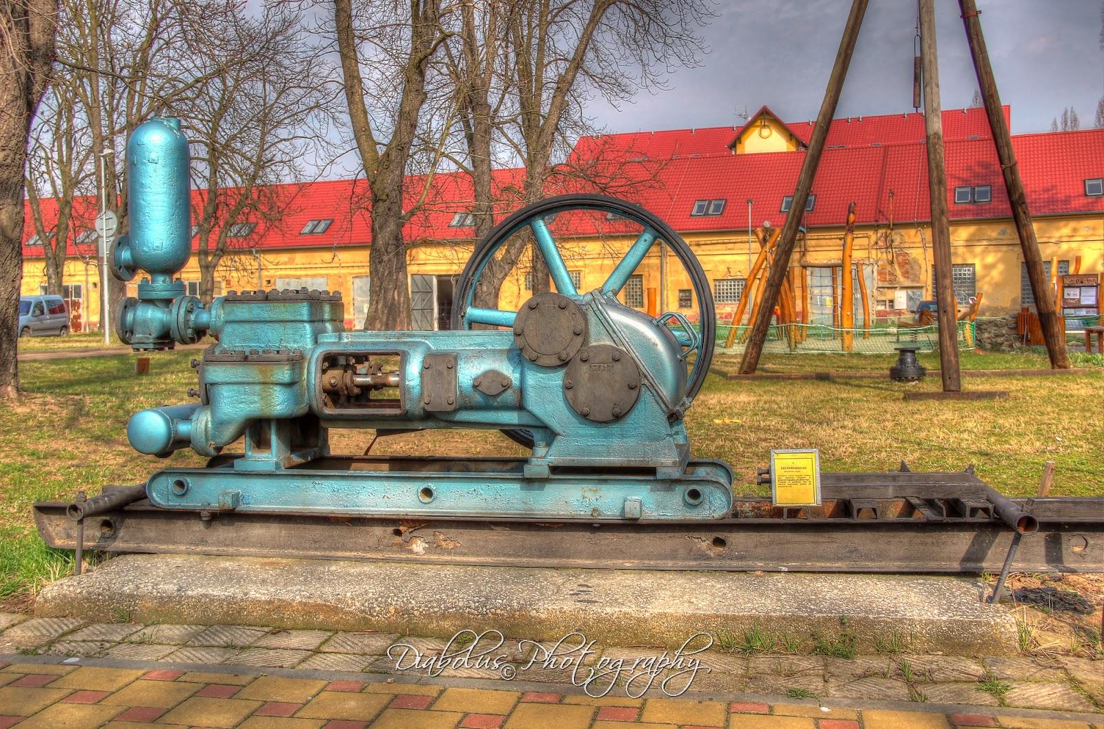 Naftařské čerpadlo - Naftařské muzeum Hodonín