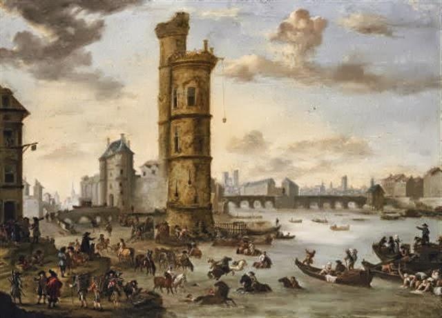 El escándalo de la Torre de Nesle