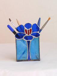 Nuevo: Guarda lápices de Flor de Croco
