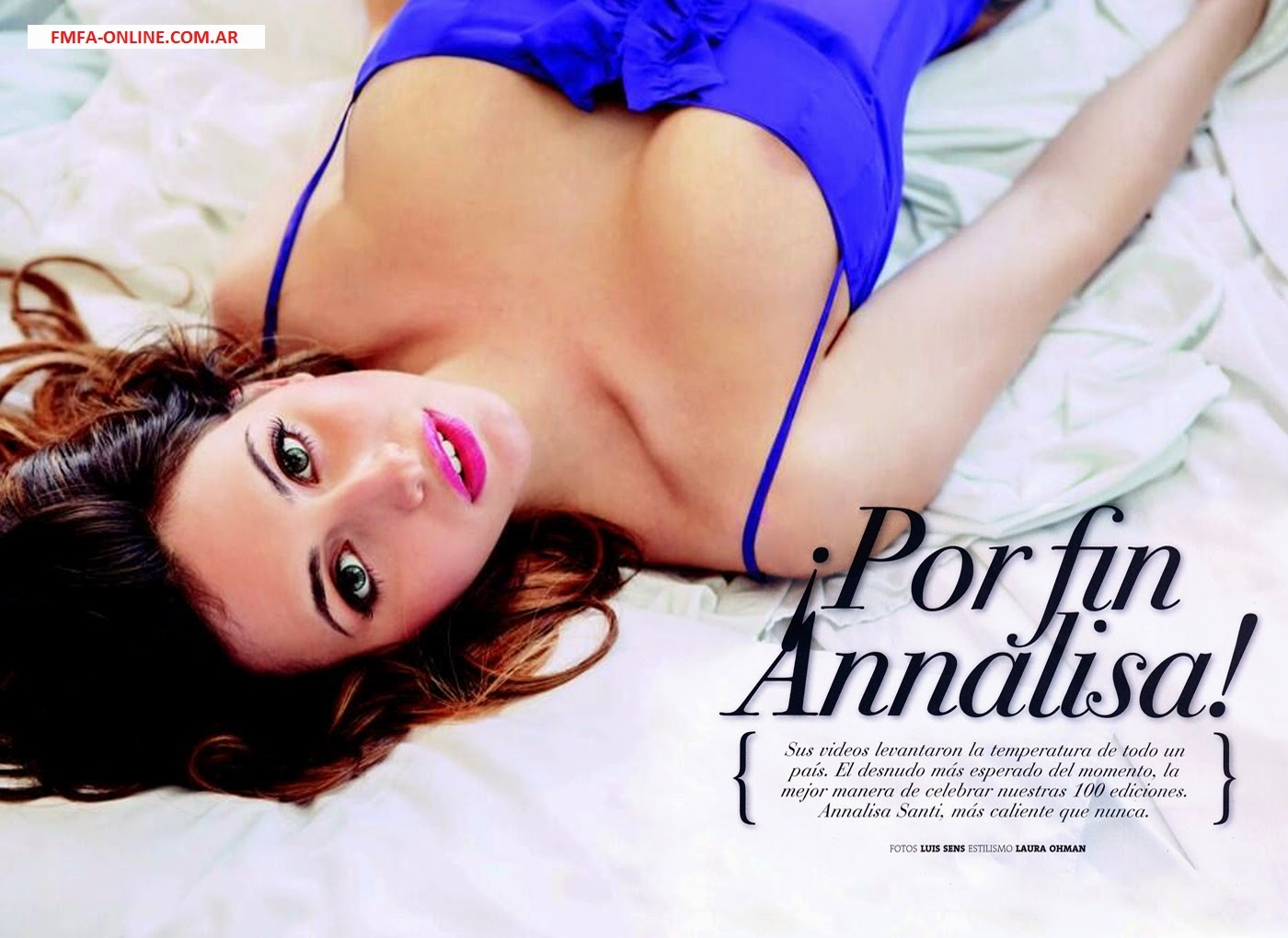 Annalisa Santi Nude In Playboy