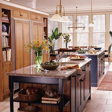 kitchen photo gallery islandkitchen photos On kitchen setting ideas