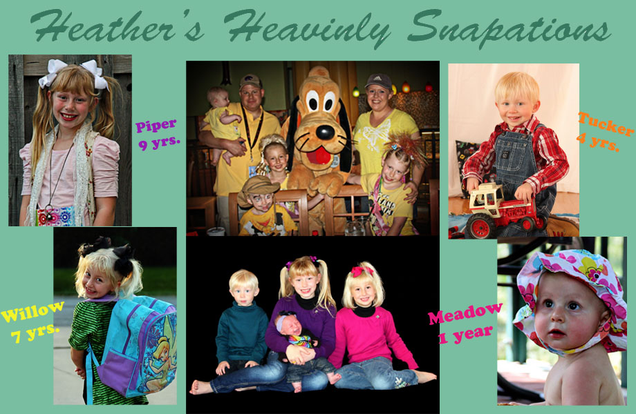 Heather's Heavinly Snapations - My Photo Creations :)
