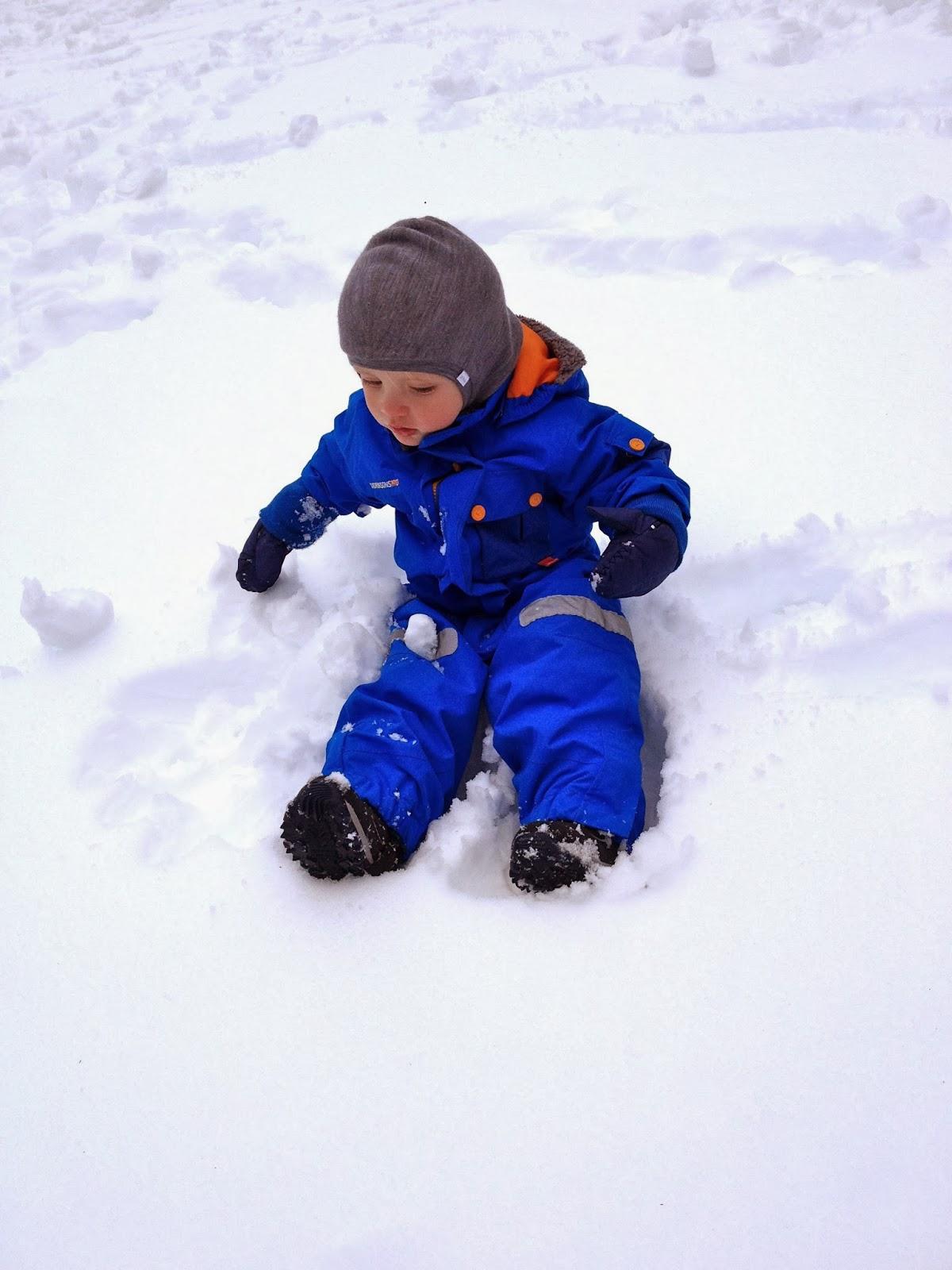 Test Schneeanzug Didriksons 1913 Sutton Kid's