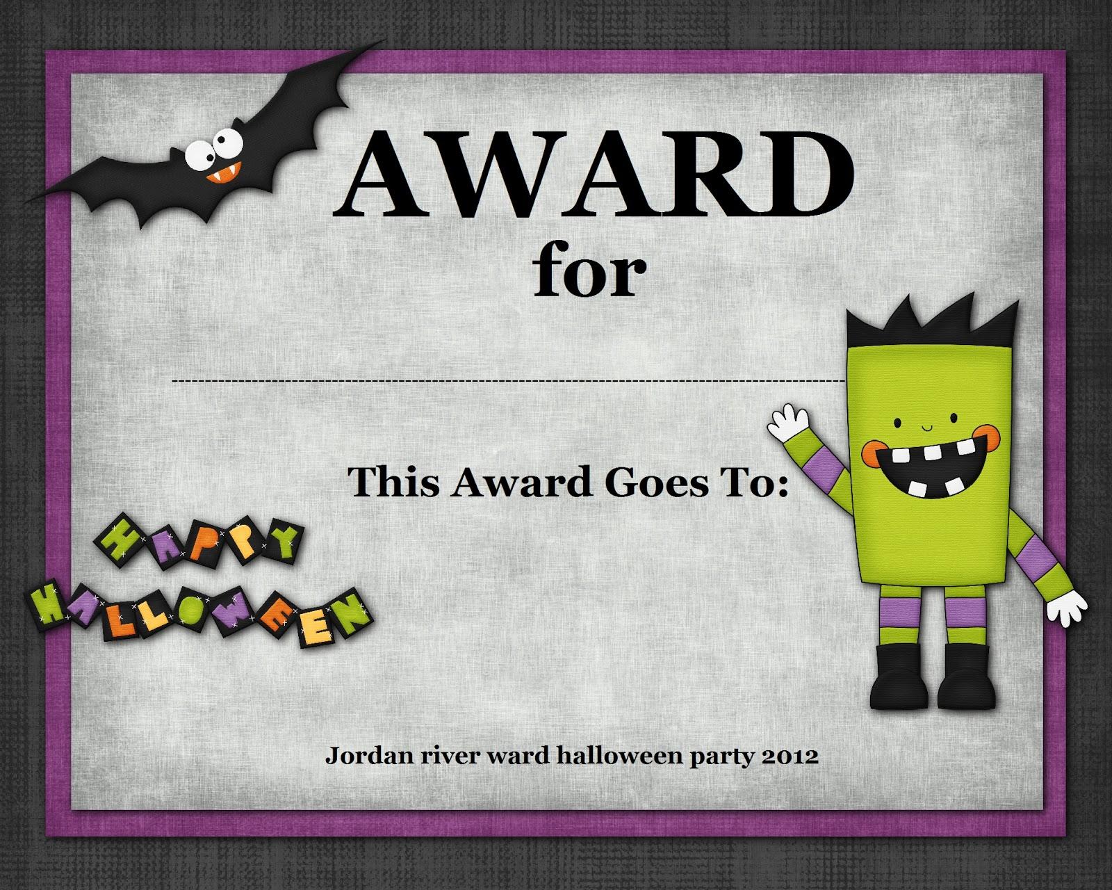 costume awards