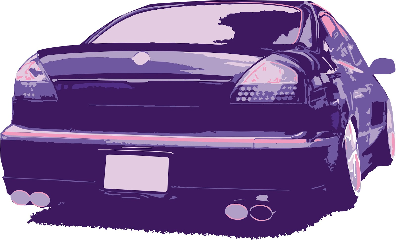 Nissan F50 Cima vector