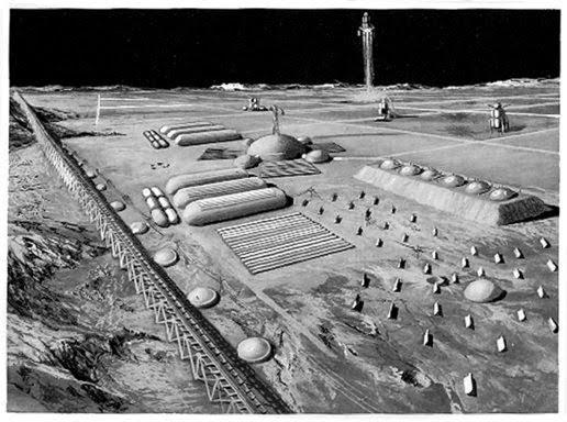 Koloni di bulan, kehidupan di bulan