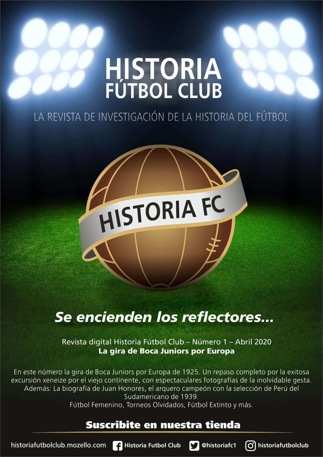 Revista digital Historia Fútbol Club