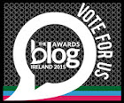 Blog Awards Ireland - shortlist!