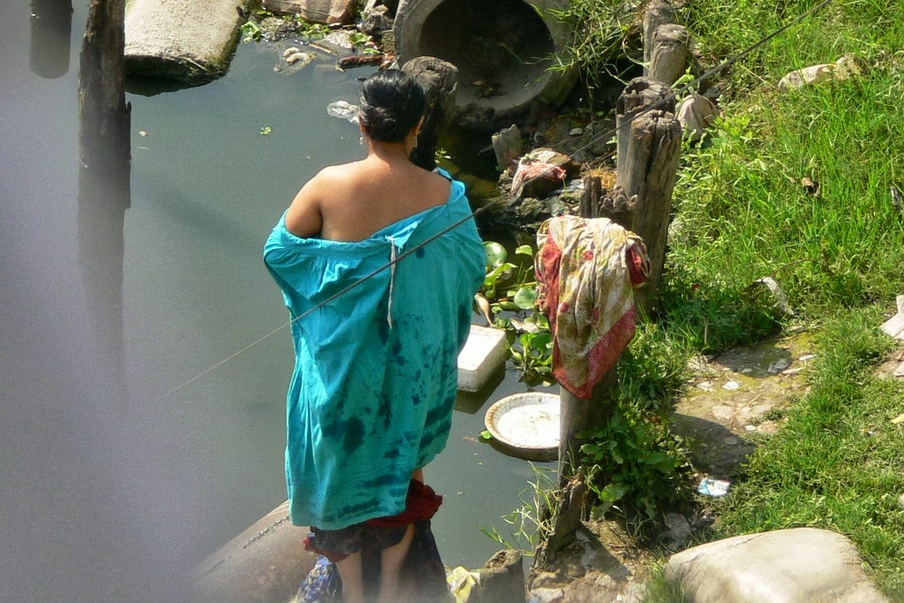 Indian Village Aunties Nanga Bath
