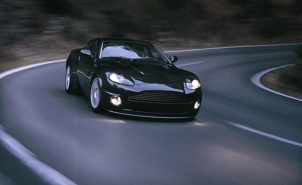 sports car aston martin db9 black. Black Bedroom Furniture Sets. Home Design Ideas