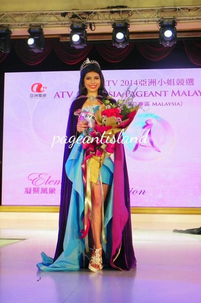JACINDA RAE WEBB-MISS ASIA MALAYSIA PAGEANT 2014 WINNER.