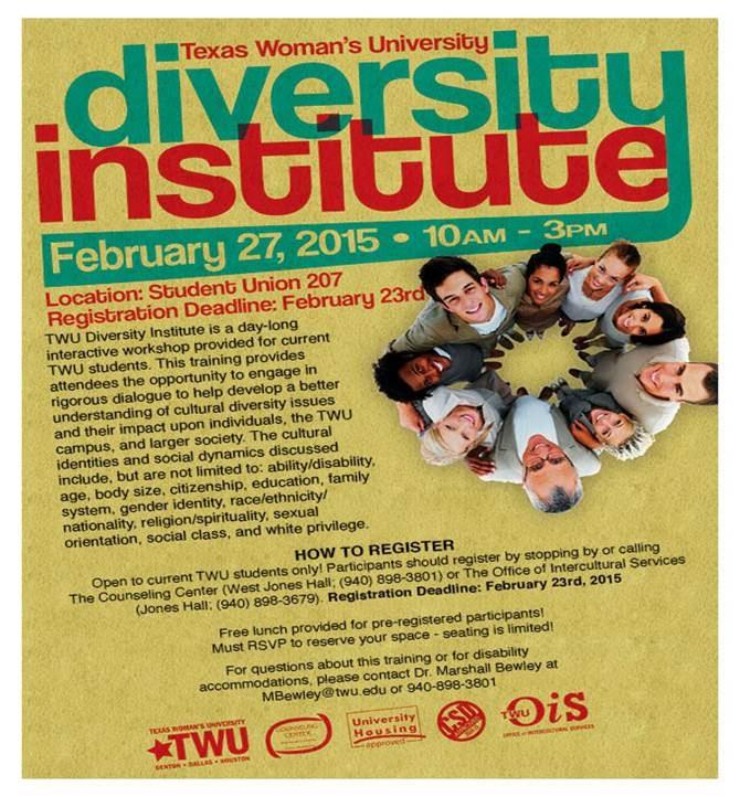 Diversity Institute Flyer