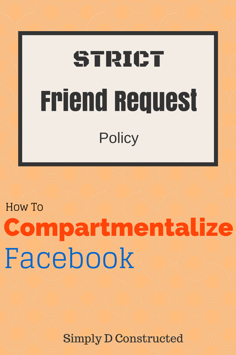 How To Compartmentalize Your Facebook