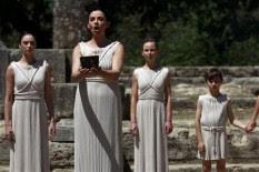 Ritual pagão é feito em cerimônia de preparação para as Olimpíadas de Londres