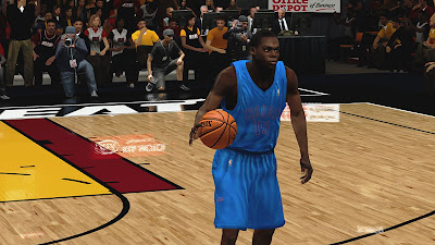 NBA 2K13 Reggie Jackson Face Cyber Face Patch