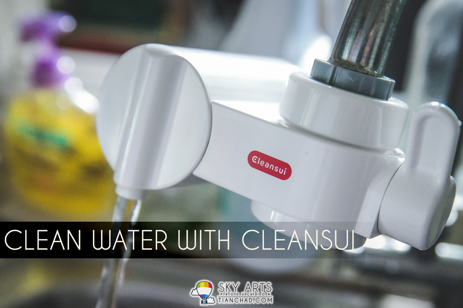 Clean Water with Cleansui Water Purifier CB Series from Japan