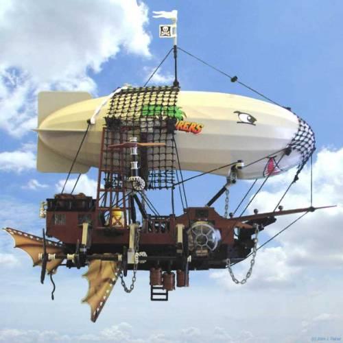 how to make a homemade airship