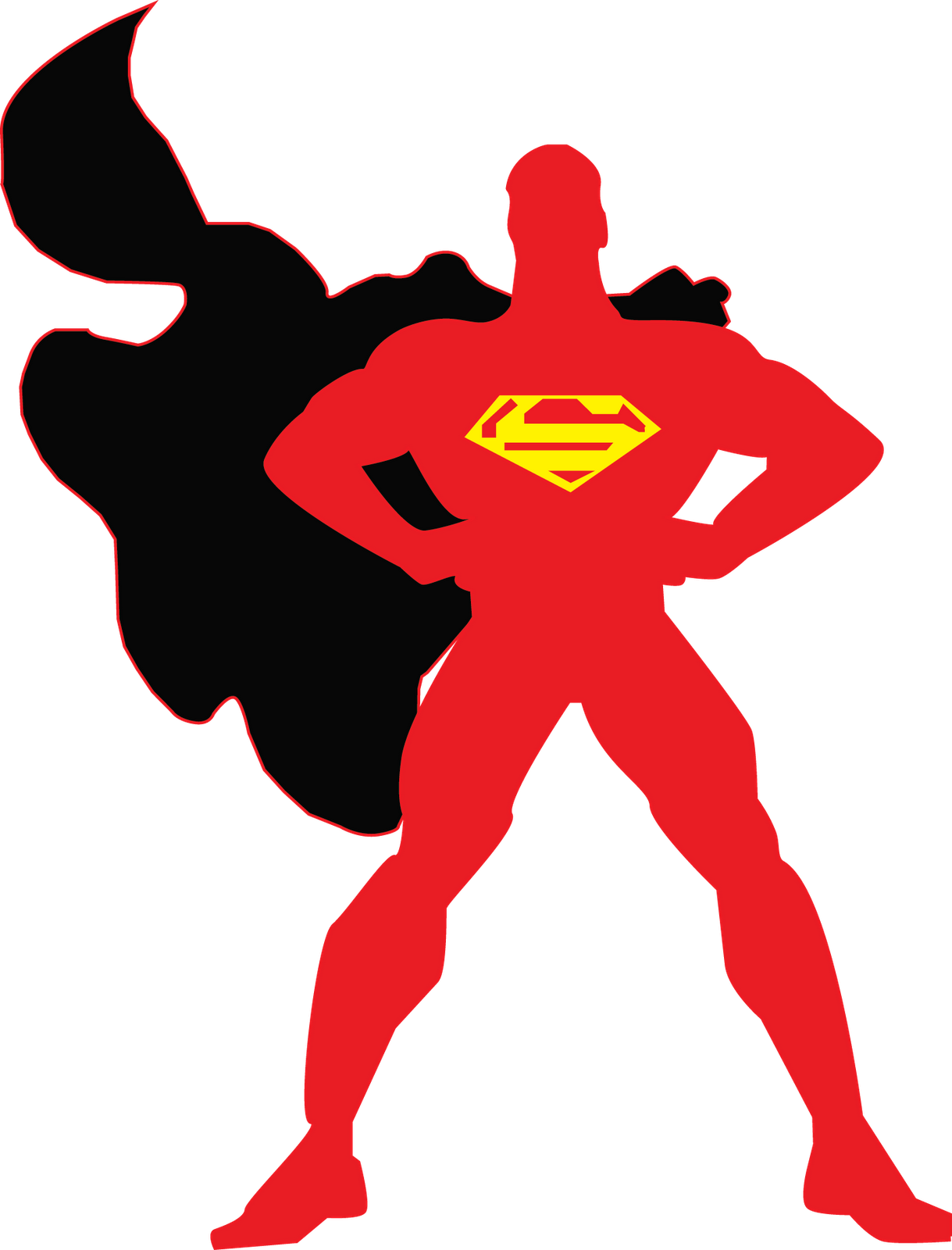 Viewing Gallery For - Superman Logo Outline Man Of Steel Logo Coloring Pages