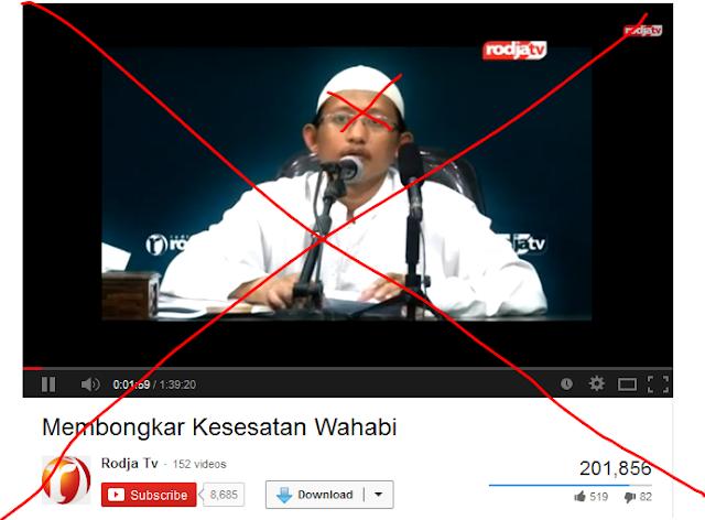 Kebohongan Ustad Wahabi dalam Menjelaskan '' Siapa itu Wahabi? ''