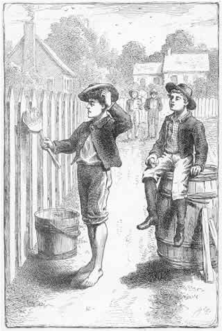 the relationship between tom and huck in the story of tom sawyer While tom sawyer is a comedic children's adventure story, huckleberry finn is a darker  show mark twain's conflicted relationship with his  between huckleberry finn & tom sawyer related .