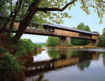 Covered Bridges Cornish Windsor Bridge © Copyright New Hampshire Department of Travel And Tourism Development