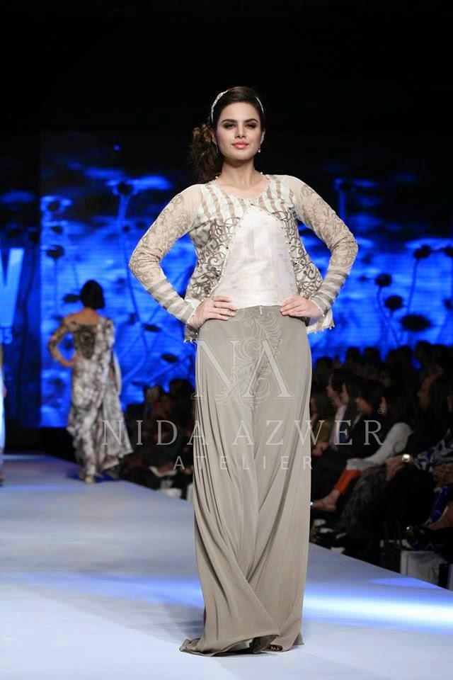 TPFW 2015 Nida Azwer pretty summer dresses