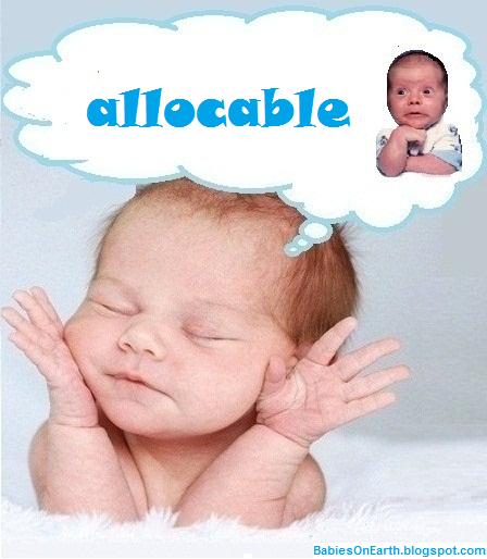 allocable