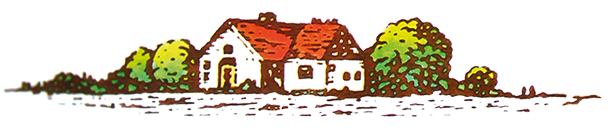 Décoration illustration ferme vintahe