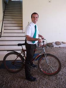 I was a bike missionary!